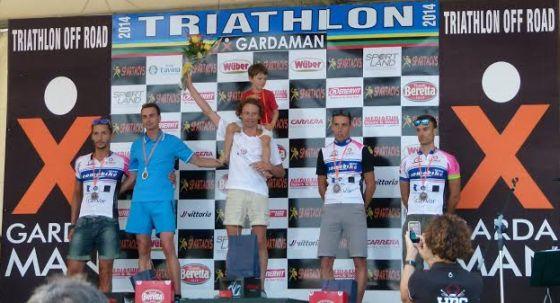 XGardaman 2014, il podio maschile
