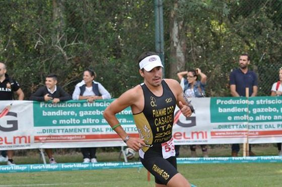 Alberto Casadei ha vinto il triathlon sprint del Challenge Forte Village 2014