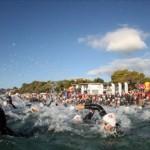 Il nuoto del Challenge Forte Village Triathlon 2014