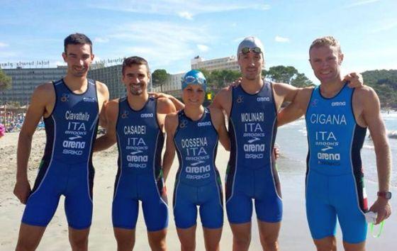 Grandi prove per i 5 PRO azzurri agli Europei Challenge Mallorca 2014