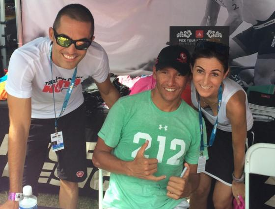 Daniele, Macca ed Elisa, live from Kona, Mondiale Ironman Hawaii 2014!