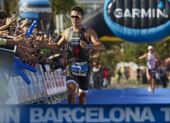 Javier Gomez fa suo il Garmin Barcelona Triathlon 2014