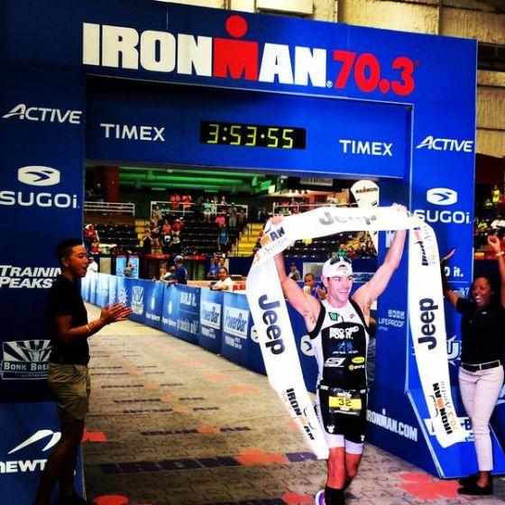 Christian Kemp trionfa all'Ironman 70.3 Austin 2014 in Texas