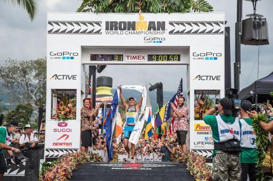L'australiana Mirinda Carfrae iridata all'Ironman Hawaii World Championship 2014 (Foto: Nils Nilsen/IRONMAN)