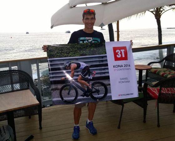 Daniel Fontana pronto per la sfida dell'Ironman Hawaii 2014!