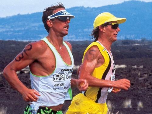Dave Scott e Mark Allen, le due icone plurivittoriose dell'Ironman Hawaii