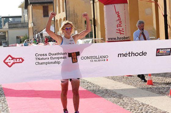 Genziana Cenni vince il TNatura Conegliano Cross Duathlon 2014