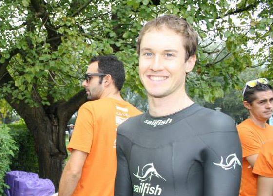 Federico Incardona vince il 1° Triathlon Sprint di Candia Canavese