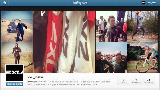 2XU Italia su Instagram