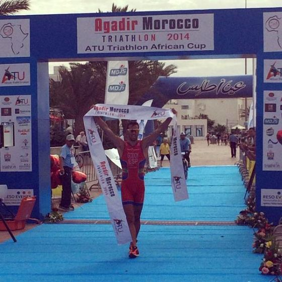 Lo spagnolo Francesc Godoy vince l'Agadir ATU Triathlon 2014