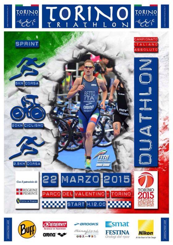 Campionato Italiano Duathlon Torino: iscrizioni e prova circuito