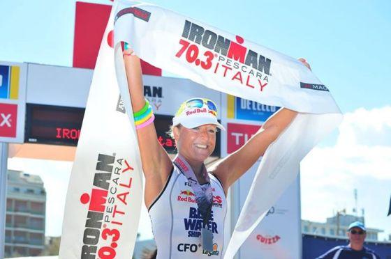Camilla Pedersen ha vinto l'edizione 2014 di Ironman 70.3 Italy