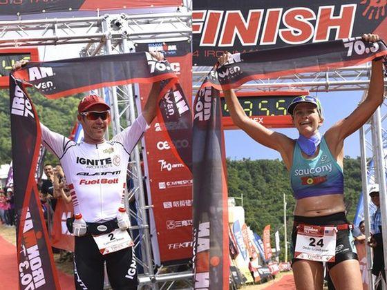 I vincitori dell'Ironman 70.3 Taiwan