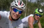 Selfie post Laguna Phuket Triathlon per Alberto Casadei e Massimo Cigana
