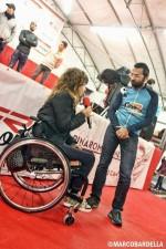 Marina e Daddo alle premiazioni del duathlon di Ride for Life 2014