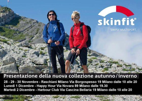 Skinfit a Milano presenta la nuova collezione