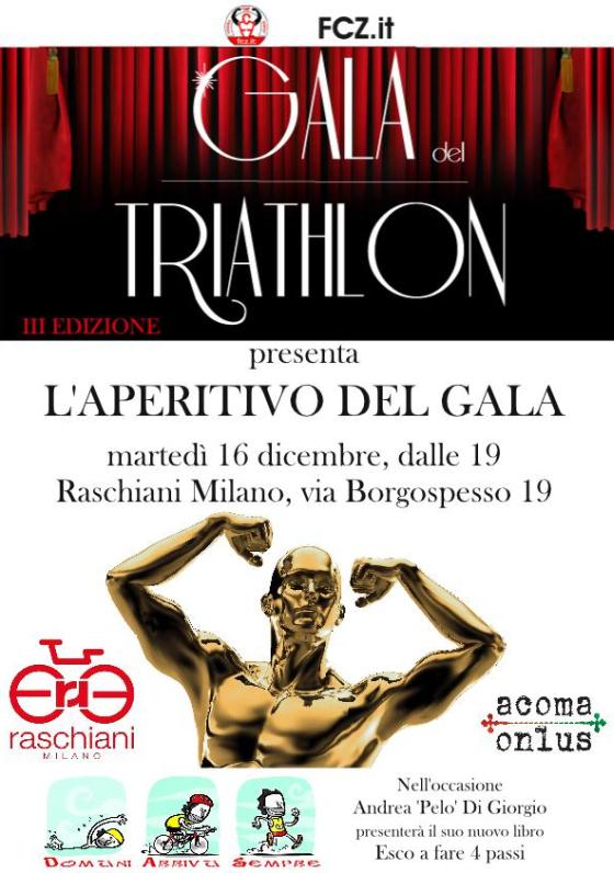 L'Aperitivo del Gala del Triathlon