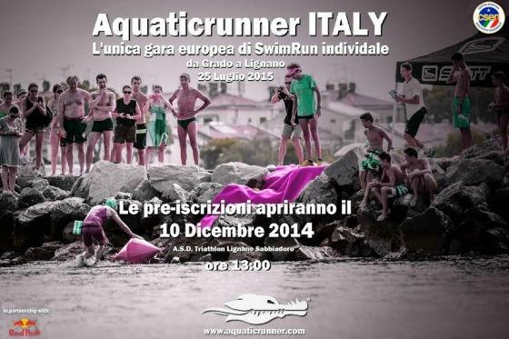 Il via alle registrazioni per Aquaticrunner Italy 2015