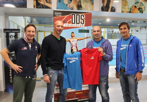 Brooks nuovo sponsor DDS Triathlon Team