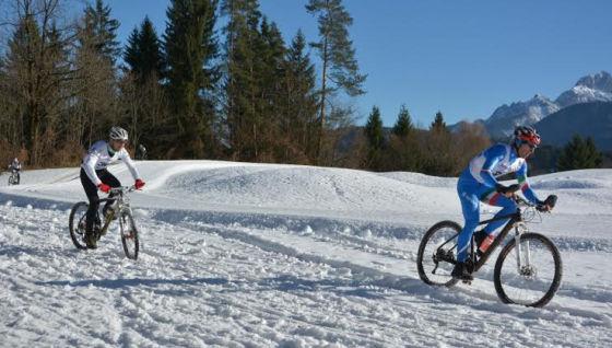 A Tarvisio gli Italiani di Winter Triathlon