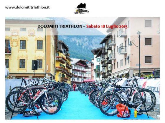 La nuova data del Dolomiti Triathlon: 18 luglio 2015