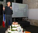 Mark Allen ad Avignone per la festa dei 25 anni dell'ITU