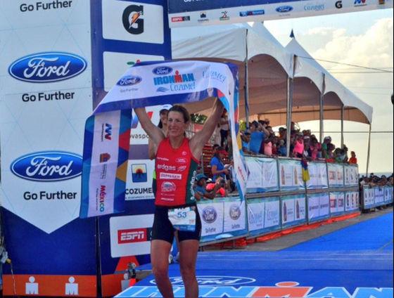 Nicola Spirig a Cozumel: «Sono un'Ironwoman-winner!»