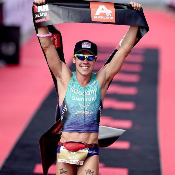 Tim Reed e Meredith Kessler sbancano l'Ironman 70.3 Auckland