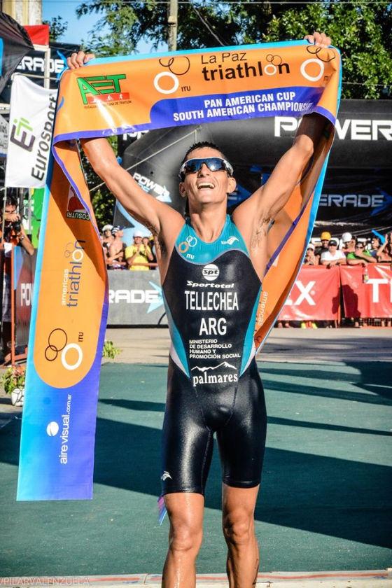Tellechea e Carvallo trionfano al Triathlon Internacional de La Paz