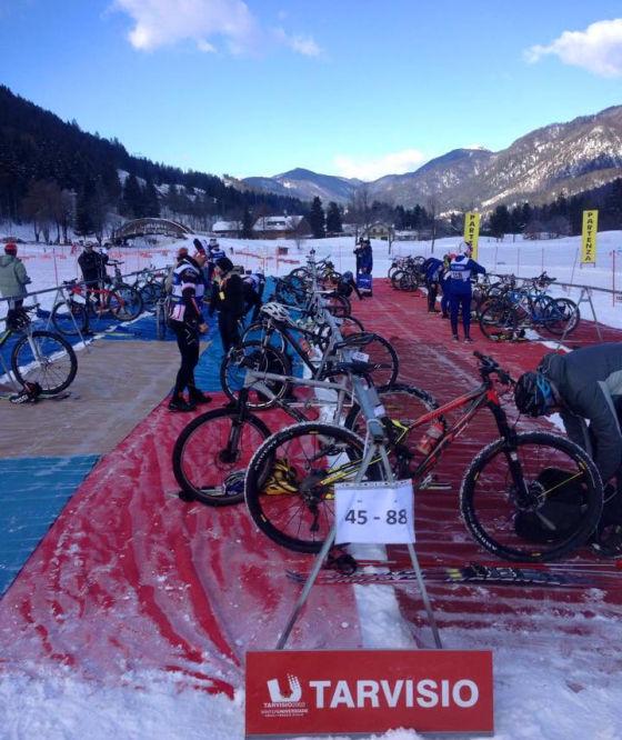 08-02-15 Campionato Italiano Winter Triathlon Tarvisio