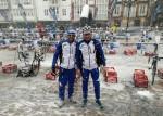 Giuseppe Lamastra e Daniel Antonioli agli Europei Winter Triathlon Reinosa 2015
