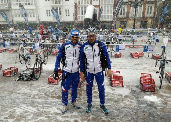 Europei Winter Triathlon Reinosa trasformati in duathlon sprint