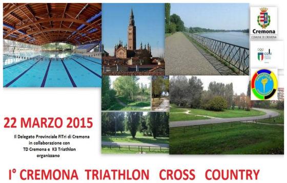 Il 22 marzo a Cremona il primo triathlon del 2015!