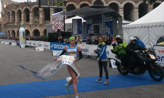 Una strepitosa Sara Dossena vince la Giulietta&Romeo Half Marathon!