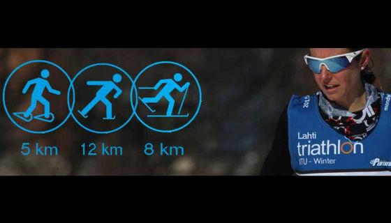A San Valentino, Lahti ospita l'esordio europeo dell'S3 Winter Triathlon!