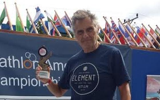 Alessandro Jovine triathlon finisher alla cubana