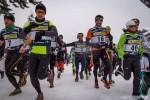 La partenza del Wintersports Vallespluga 2015