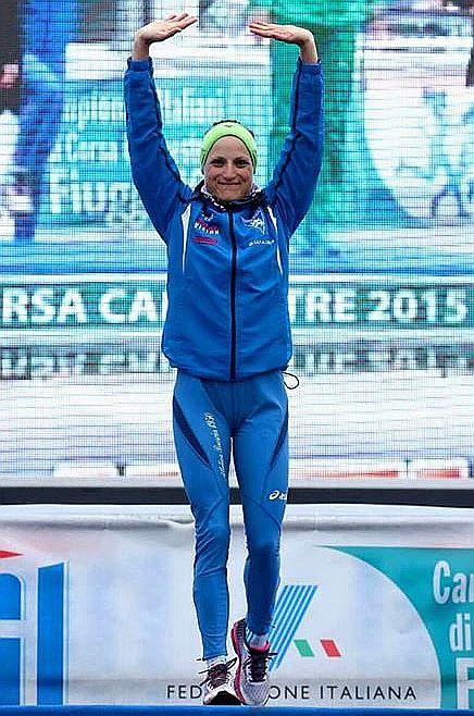Sara Dossena campionessa italiana di Cross a Fiuggi!