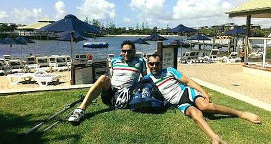 Giovanni Achenza e Gianni Sasso sul podio in Australia