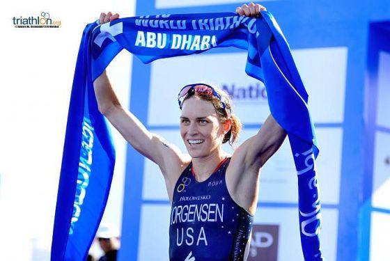 ITU WTS Abu Dhabi vinta da Gwen Jorgensen, Bonin 40^