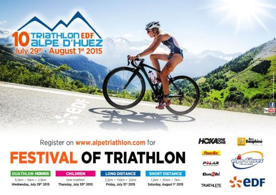 Decima candelina per il Triathlon Alpe d'Huez