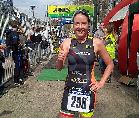 Giulio Molinari e Gabriella Zelinka al Triathlon Città di Torino