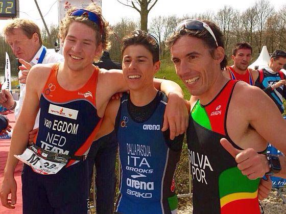 Alberto Della Pasqua Campione d'Europa di Duathlon Sprint!
