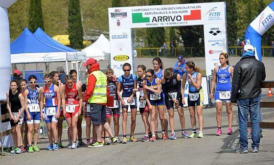 18-19/04/15 Campionati Italiani Duathlon Giovani Perugia