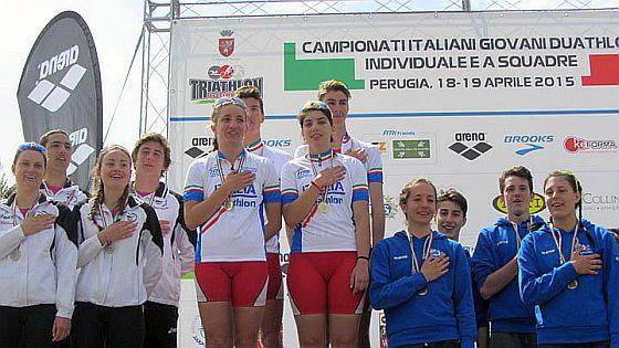 Tutti i risultati dei Campionati Italiani Duathlon Giovani Perugia
