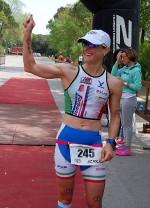 Martina Dogana è prima all'Irondelta di Primavera del 26 aprile 2015