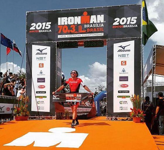 Tim Don si aggiudica con 1' di margine l'Ironman 70.3 Brasilia 2015