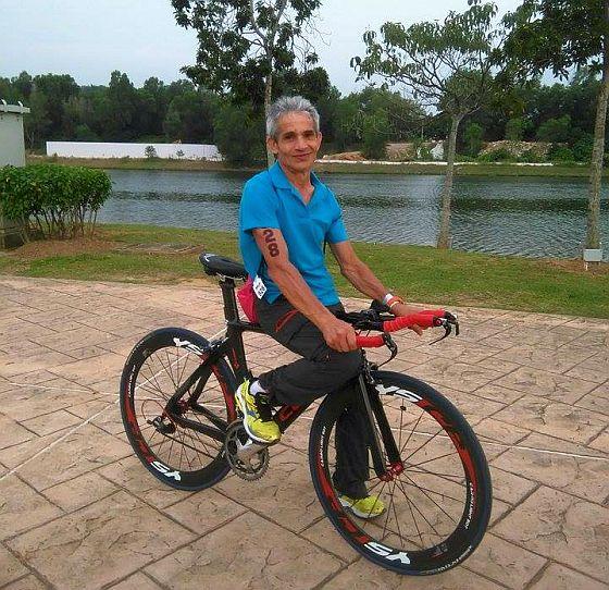 Valerio Curridori inanella un'altra splendida vittoria nel suo AG all'Ironman 70.3 Putrajaya 2015