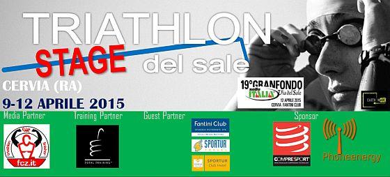 Triathlon Stage del Sale dal 9 al 12 aprile