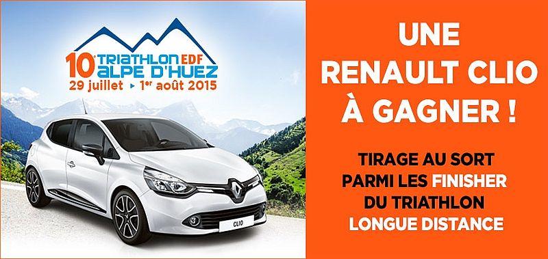 Super Tombola Renault all'Alpe d'Huez Triathlon!